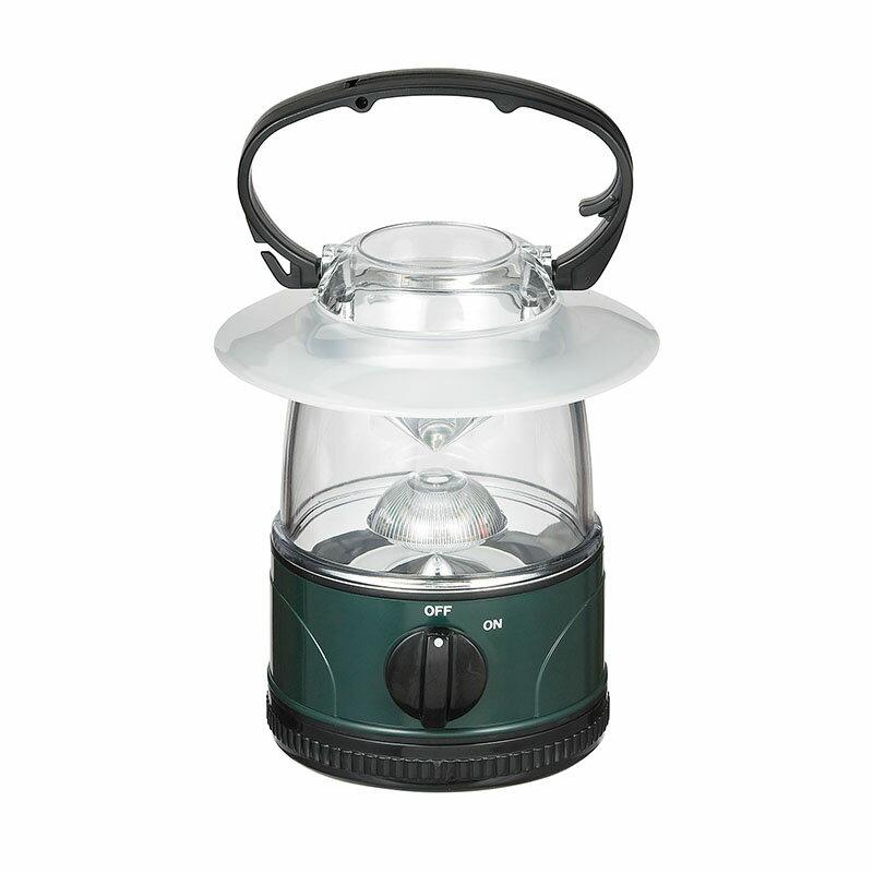 【わけあり】LEDランタン 電球色 24ルーメン 単3形4本 DOP-L008L/ELPA【同時購入注意】