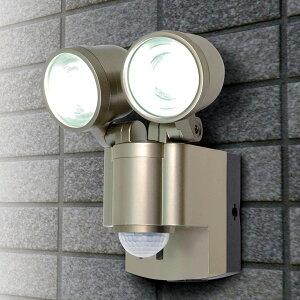 エルパ LEDセンサーライト 乾電池式 2灯 ESL-302BT