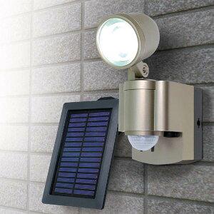 エルパ LEDセンサーライト ソーラー発電式 1灯 ESL-301SL
