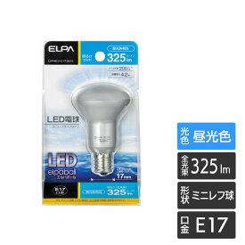 【LED電球まとめ買いクーポン対象】エルパ LED電球 ミニレフランプタイプ E17 昼光色相当 LDR4D-H-E17-G610 /ELPA 朝日電器 アウトレット