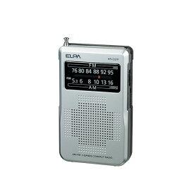 【マラソン期間限定P10倍!】エルパ AM/FMコンパクトラジオ ER-C37F /ELPA 朝日電器 アウトレット