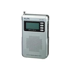 エルパ AM/FM コンパクトラジオ ポケットラジオ ER-C38FL /ELPA 朝日電器 アウトレット