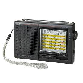 【マラソン期間限定P10倍!】エルパ AM/FM 短波ラジオ アナログ表示 ER-C54T /ELPA 朝日電器 アウトレット