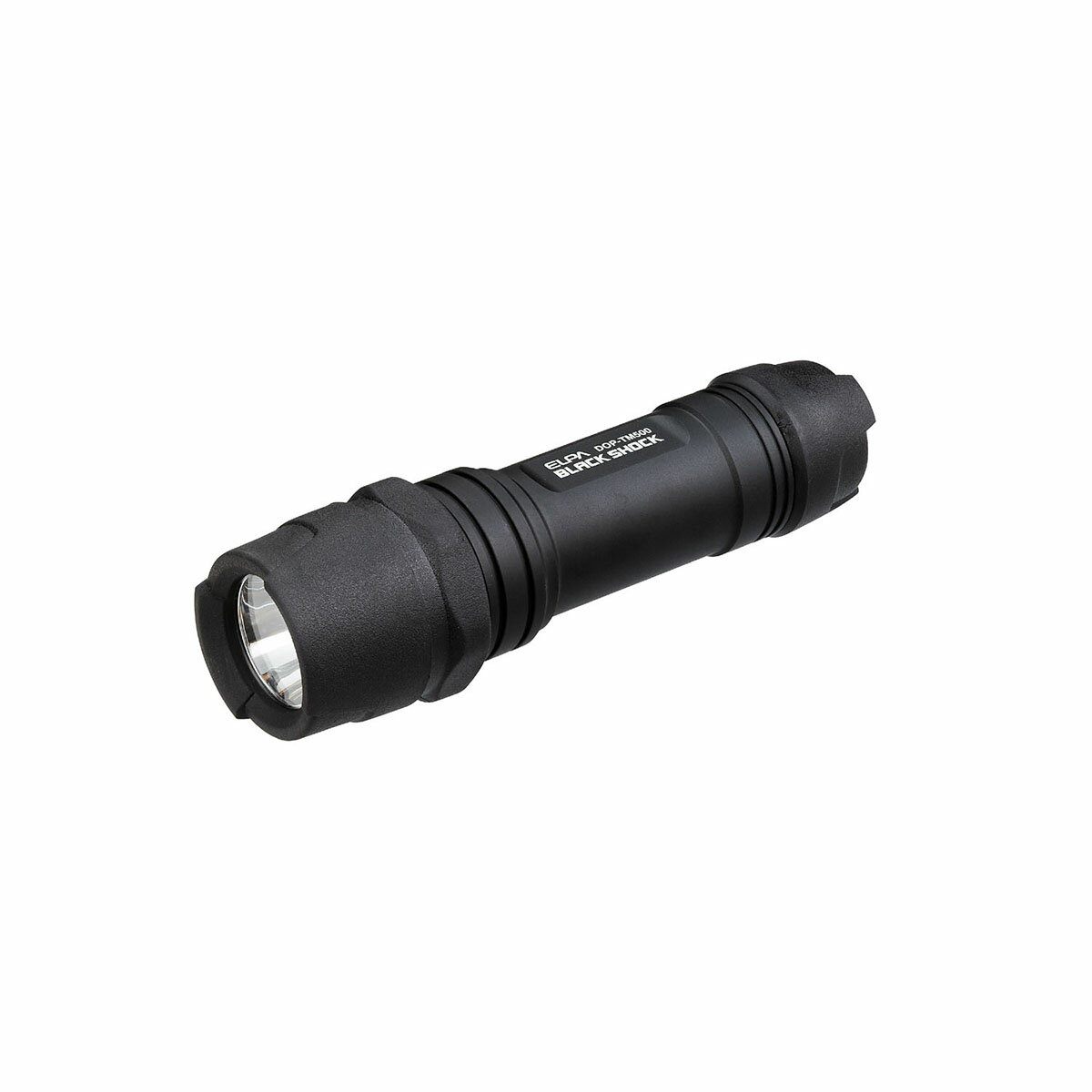 【アウトレット】ELPA 衝撃に強い!タフボディ LEDライト 明るい130lm 防沫 DOP-TM500【同時購入注意】