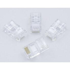 エルパ 6個入 LAN用モジュラープラグTEA-111/8極8芯 4芯兼用 /ELPA 朝日電器