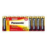 パナソニック アルカリ乾電池 単3×20本入 LR6XJ/20SW