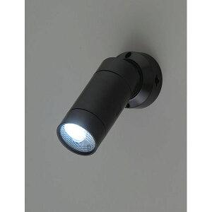 エルパ LEDセンサーライト ESL-05BT(BK) 乾電池式 屋外用 防沫 玄関灯 防犯ライト /ELPA 朝日電器