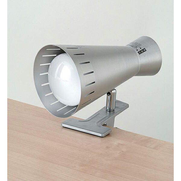 【わけあり】クリップライト 100W シルバー SPOT-R100C(SL)/ELPA【同時購入注意】