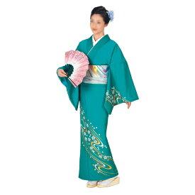 踊り絵羽着物 ポリエステル 舞踊 日本舞踊 民踊 新舞踊