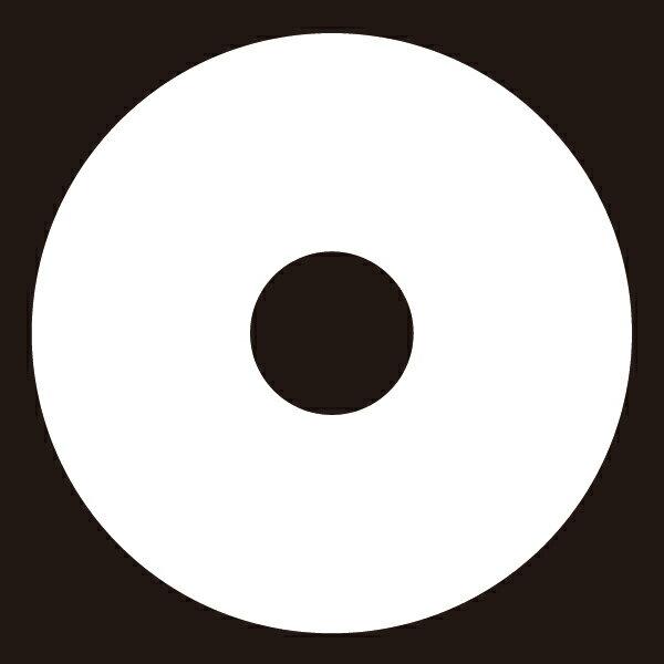 貼り紋 蛇の目(シールタイプ6枚1組) =着物、羽織、家紋、紋付=