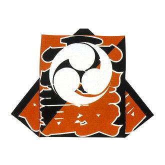 안료 프린트 소매 없는 옷 해 일본식 겉옷・법피(오렌지・흑) 북문자에 삼파=축제, 북의상=
