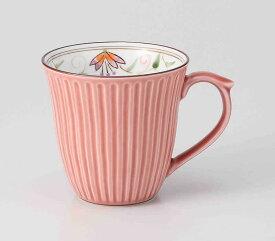花連 軽量マグ(赤) 波佐見焼 和食器 陶器 はさみやき マグカップ 急須 コーヒーカップ 湯呑
