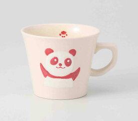赤パンダ マグカップ 波佐見焼 和食器 陶器 はさみやき マグカップ 急須 コーヒーカップ 湯呑
