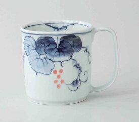 平成ぶどう 軽量マグ(赤) 波佐見焼 和食器 陶器 はさみやき マグカップ 急須 コーヒーカップ 湯呑