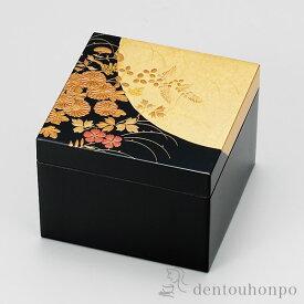 小物入れ はなの ( 名入れ可 アクセサリー入れ 収納ボックス ケース BOX 宝物 山中漆器 結婚 出産 内祝い 引き出物 金婚式 誕生日プレゼント 還暦祝い 古希 喜寿 米寿 プレゼント お祝い お返し 2019 令和 平成 両親 父 母 男性 女性 日本製 おすすめ おしゃれ )