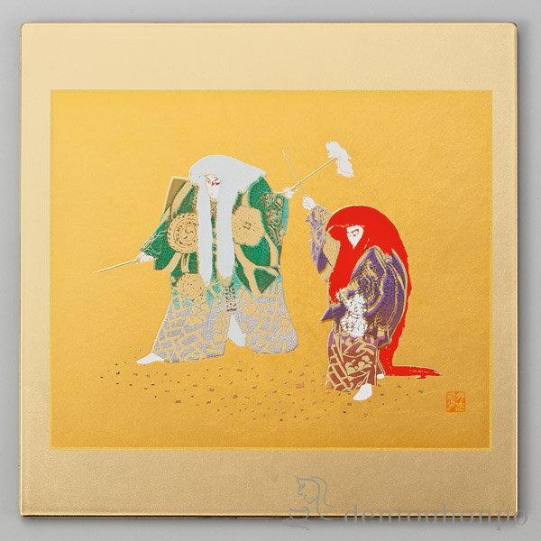 マウスパッド 金 連獅子 ( 名入れ可 お祝い マウス 周年記念品 創立記念品 販促品 定年 退職祝い 山中漆器 周年 創立 上場 竣工 開店 事務所移転 開業 プレゼント お祝い お返し 2018 海外 日本 取引先 法人 日本製 おすすめ おしゃれ かわいい 可愛い 人気 )