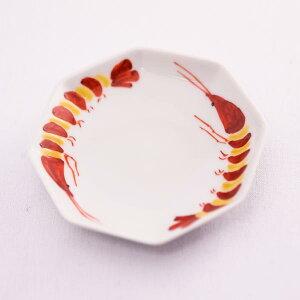 【九谷焼】八角皿おめでた5枚組