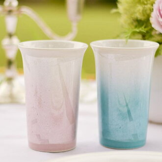 Free cup cheri pair (shochu glass beer cup beer glass-free cup wedding present wedding anniversary sixtieth birthday celebration parents Kutani chinaware marriage delivery family celebration present golden wedding anniversary birthday present sixtieth bi
