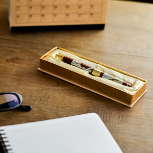【山中漆器】木製ロイヤルボールペン選べる4種類1本