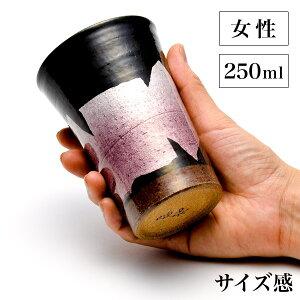 【九谷焼】ビアカップawatana銀彩紙箱付き350mlペア