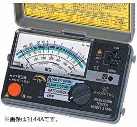 共立電気計器 アナログ絶縁抵抗計(小型2レンジ)/キューメグ 3148A