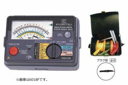 共立電気計器 アナログ絶縁・接地抵抗計/キューメグアース 6017F (6017+7100A)