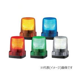 パトライト LED小型フラッシュ表示灯 LFH-24-Y 黄 (DC24V)