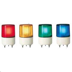 パトライト(PATLITE) 超小型LEDフラッシュ表示灯 PSE-M1 DC12/24V Ф82 パトランプ LEDフラッシュ 赤、黄、緑、青 送料無料