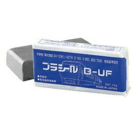 日東化成工業 鉄道車両用パテ プラシール グレー B-UF 1kg 【20個入】