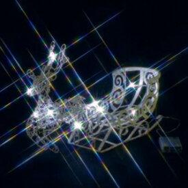 ジェフコム LEDクリスタルモチーフ 電池式 屋内仕様 サイズ:幅13×奥行45×高さ30cm トナカイ STM-M01