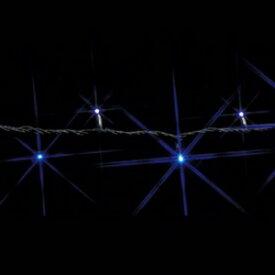 ジェフコム LEDストリング 《SJシリーズ》 20.4W 1.2A 25.2VA サイズ:30m 白/青 SJ-E05-30WB