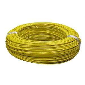 住電日立ケーブル 600V ビニル絶縁電線 アース線 単線 1.6mm 300m巻 黄色 IV1.6×300mキイロ