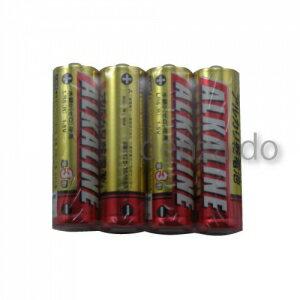 三菱 アルカリ乾電池 単3形 4本パック LR6R/4S