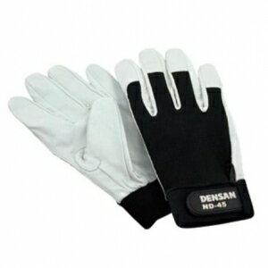 ジェフコム 電工手袋 天然皮革製 Mサイズ ND-45M