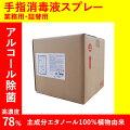ヤザワ業務用食品添加物エタノール製剤リームテックコック無し10LRT10L*