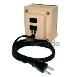 日章工業 ダウントランス AC120V対応 定格容量1500W NDF-Uシリーズ NDF1500U