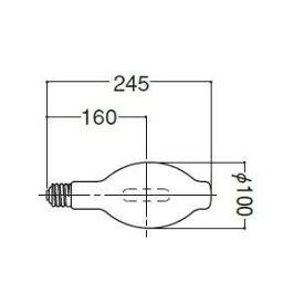 岩崎電気 HIDカラーランプ グリーン M250LEGBUP