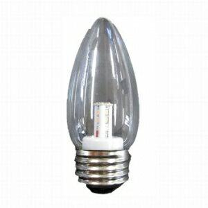 【在庫限り】 ヤザワ 【お買い得品 10個セット】 シャンデリア形 LEDランプ クリア 全光束:50lm 10〜15W相当 2700K E26口金 LDC1LG372_10set