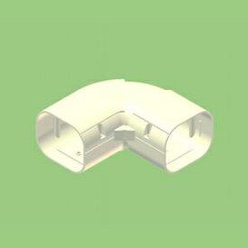 関東器材 【ケース販売特価 10個セット】 配管化粧カバー コーナー(角度自在用) 77タイプ アイボリー KCZ-75-I_set