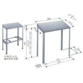 日晴金属 クーラーキャッチャー 防雪屋根 溶融亜鉛メッキ仕上げ 天板:ZAM®製 C-RZG