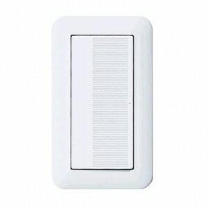 パナソニック 埋込スイッチB プレート・ハンドル・取付枠付 WTP50011WP
