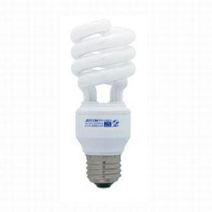 ジェフコム 電球形蛍光ランプ スパイラル型 60W相当 昼光色 E26口金 EFD14-SSD-N