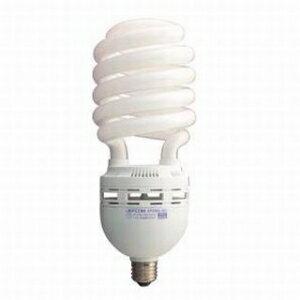 【在庫限り】 ジェフコム 電球形蛍光ランプ スパイラル型 300W相当 昼光色 E26口金 EFD85-SD