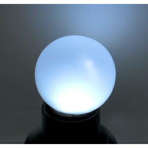 【在庫限り】 ジェフコム LEDサイン球(G40型) 白色 E26口金 P12S-E2601-W