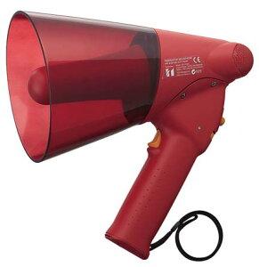 TOA サイレン音付小型防滴メガホン 6W ER-1106S