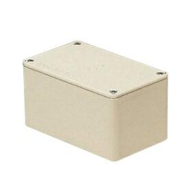 未来工業 プールボックス 長方形 ノックなし 150×90×75 ベージュ PVP-150907J