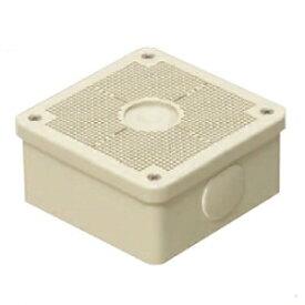 未来工業 【お買い得品 10個セット】 露出用四角ボックス 取付自在蓋 ベージュ PV4B-ANF1J_10set