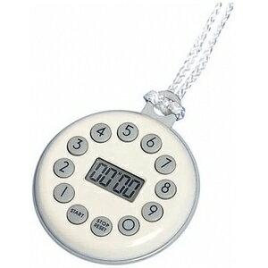 カスタム タイマー 10ボタン式 大音量アラーム/マグネット/時計機能/ハンドストラップ付 CL-199