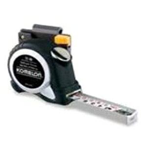 高儀 コメロン コンベックス セルフロッククローム ベルトホルダー付 19mm×5.5M オートストップ機能付 KMC-36CL 1202660