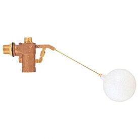 三栄水栓製作所 バランス型ボールタップ トイレ用品 ポリ玉付 ストレーナ付 玉の直径:135mm 呼び:40 V52-40
